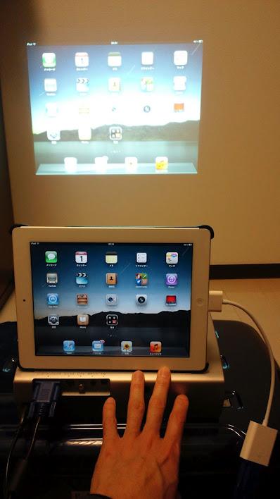 iPad2でビデオ出力